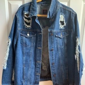 BoomBoom Jeans Deconstructed Jean Jacket